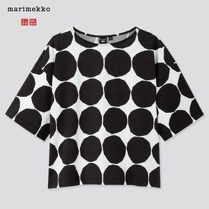 Uniqlo x Marimekko T-shirt Circle Dot Print Boxy